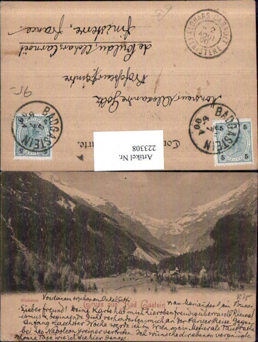 223308,Gruß aus Bad Gastein Böckstein Bergkulisse günstig online kaufen