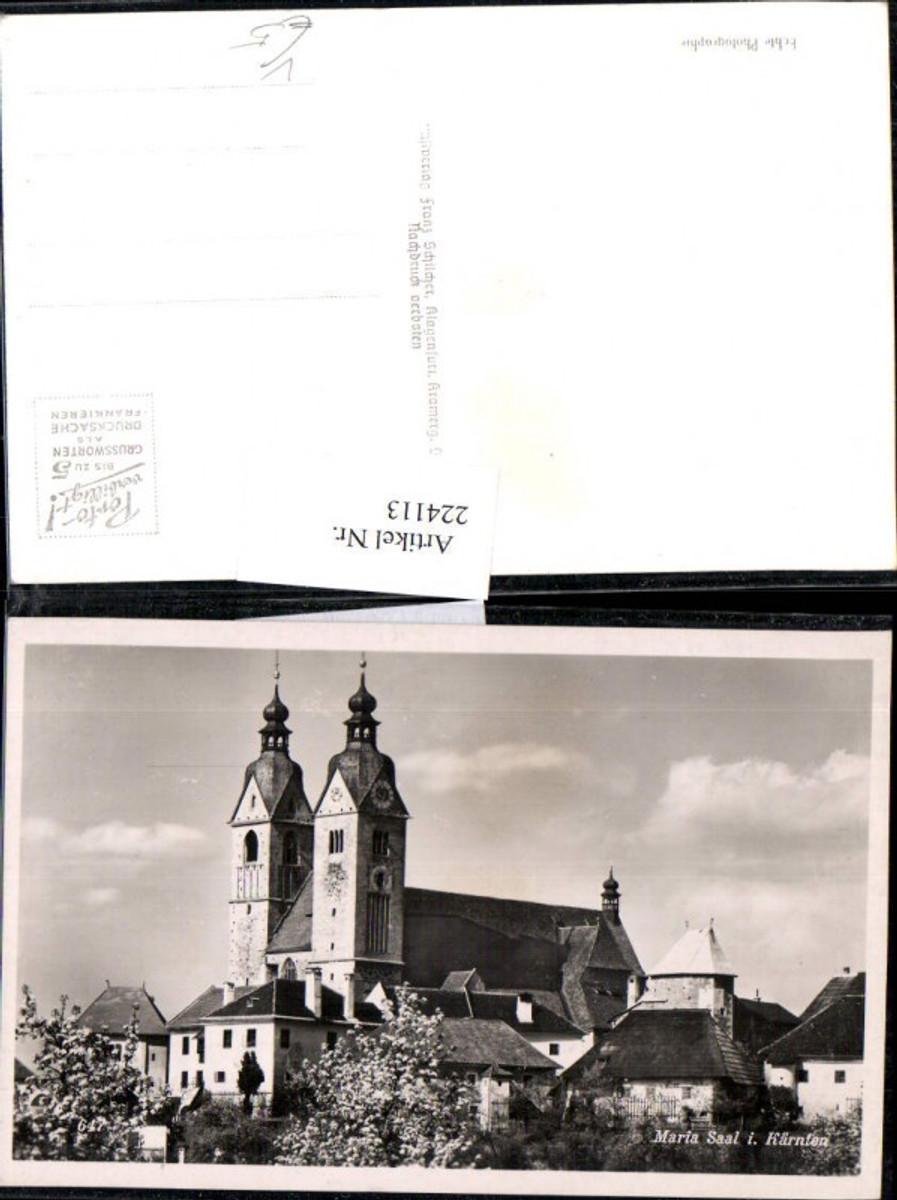 224113,Maria Saal Kirche pub Franz Schilcher 647 günstig online kaufen
