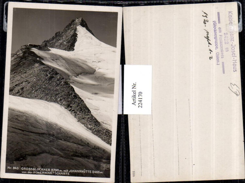 224170,Großglockner m. Johannhütte Berghütte v. d. Hohenwartscharte Bergkulisse günstig online kaufen
