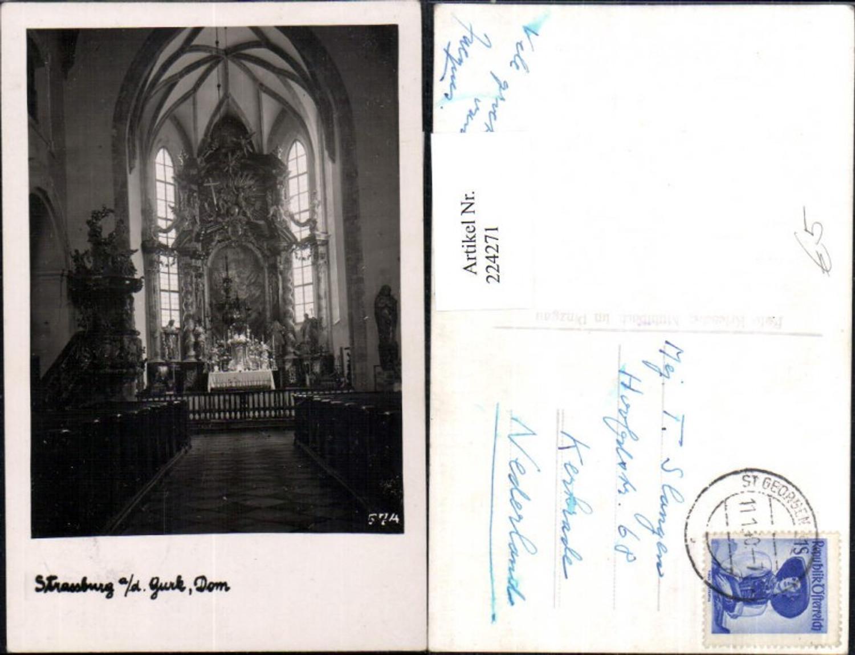 224271,Straßburg a. d. Gurk Dom Kirche Innenansicht günstig online kaufen