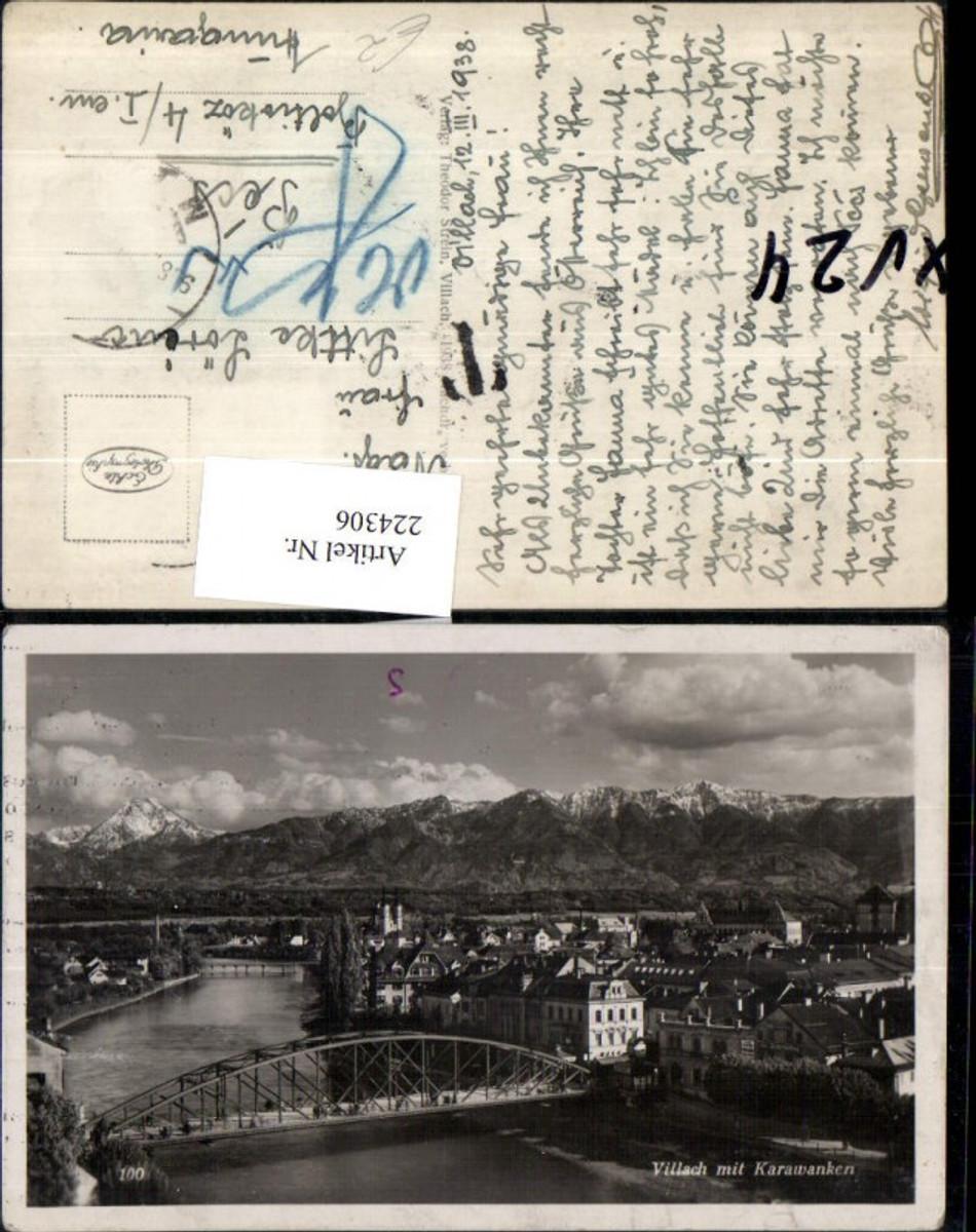 224306,Villach Teilansicht m. Karawanken Brücke günstig online kaufen
