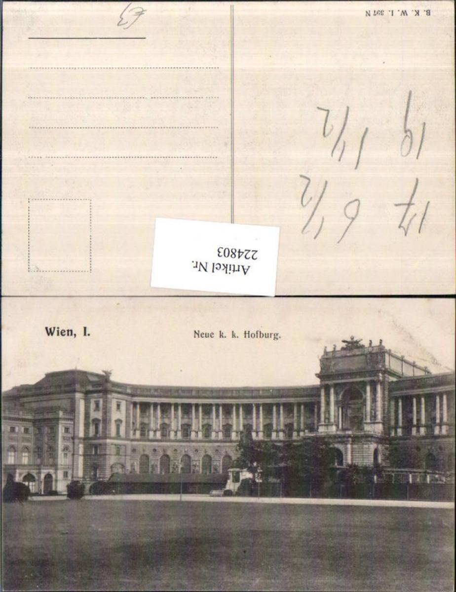 224803,Wien 1 Neue K. k. Hofburg günstig online kaufen