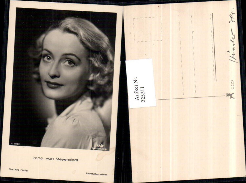 225211,Schauspielerin Irene von Meyendorff Portrait günstig online kaufen