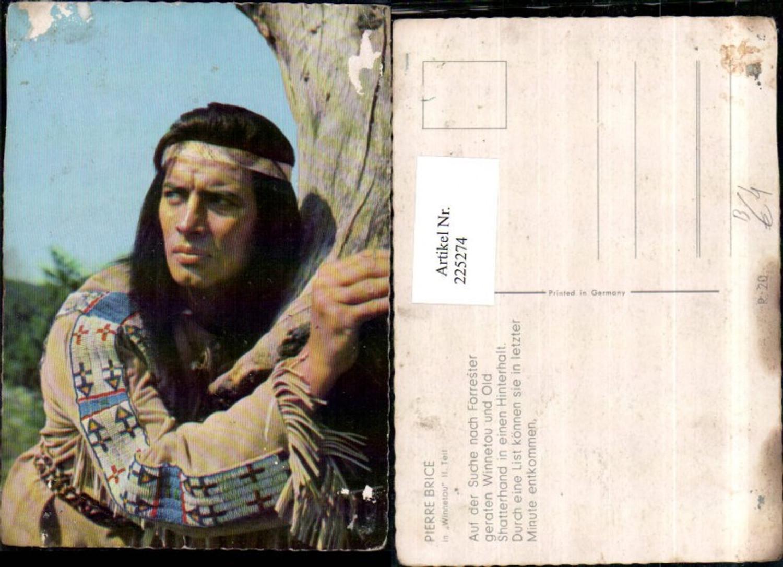 225274,Schauspieler Pierre Brice in Winnetou 2. Teil günstig online kaufen