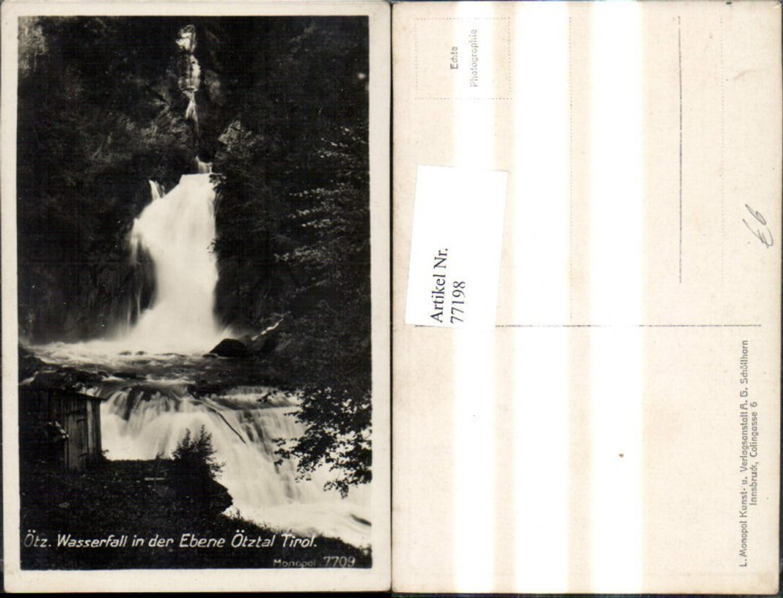 77198,Ötz Wasserfall i. d. Ebene Ötztal  günstig online kaufen