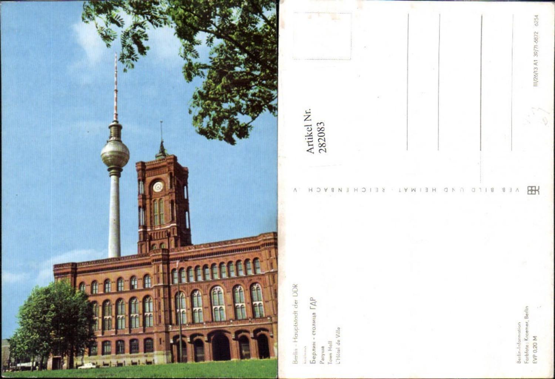 282083,Berlin Rathaus m. Fernsehturm pub VEB günstig online kaufen