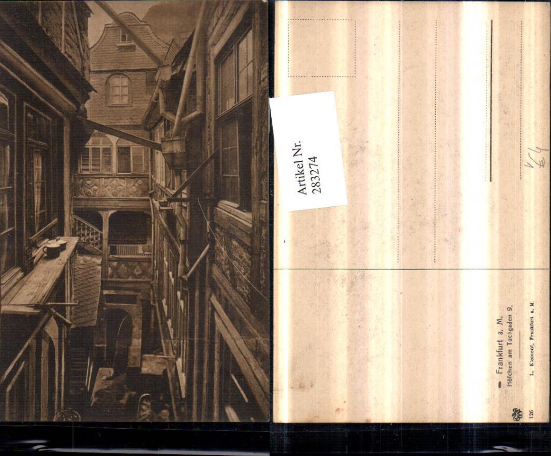 283274,Frankfurt am Main Höfchen am Tuchgaden 9 pub L. Klement 126 günstig online kaufen