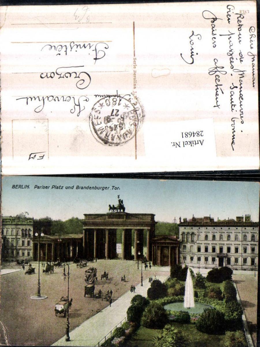 284681,Berlin Pariser Platz u. Brandenburger Tor günstig online kaufen
