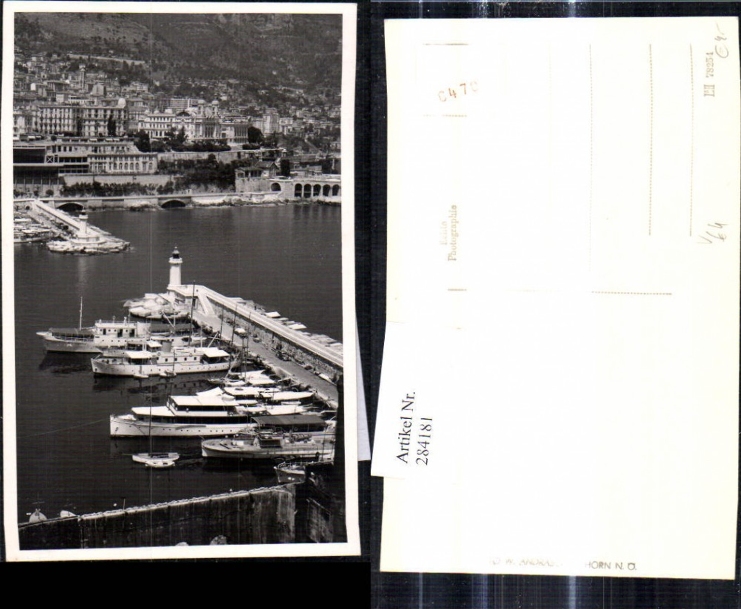 284181,Foto Ak Schiffe Hochseeschiffe Hafen pub Foto W. Andraschek Horn   günstig online kaufen