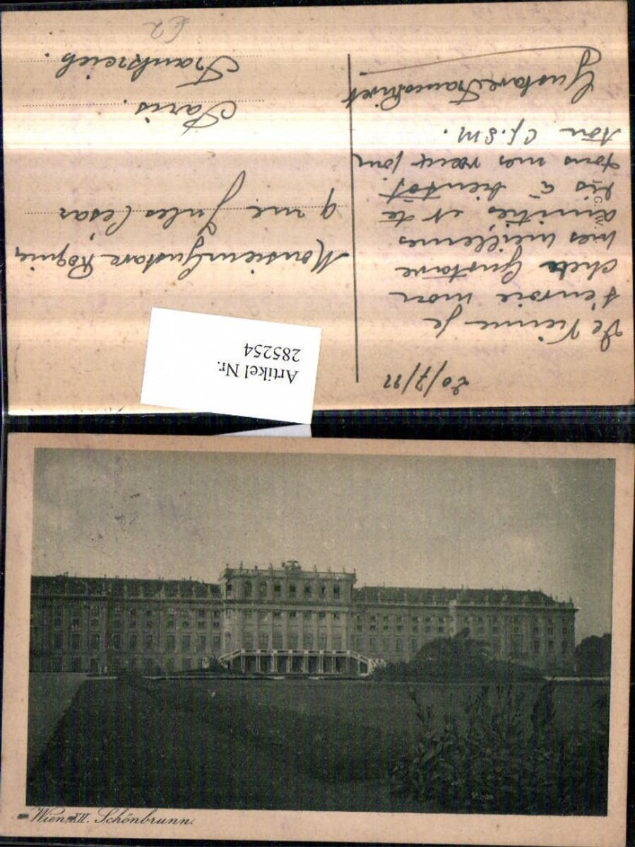 285254,Wien Hietzing Schloss Schönbrunn günstig online kaufen