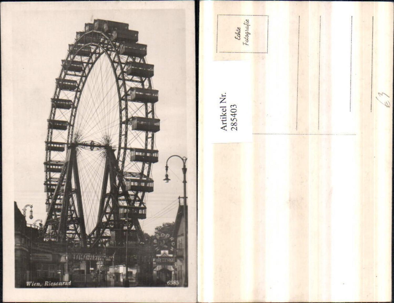 285403,Wien Leopoldstadt Prater Riesenrad günstig online kaufen