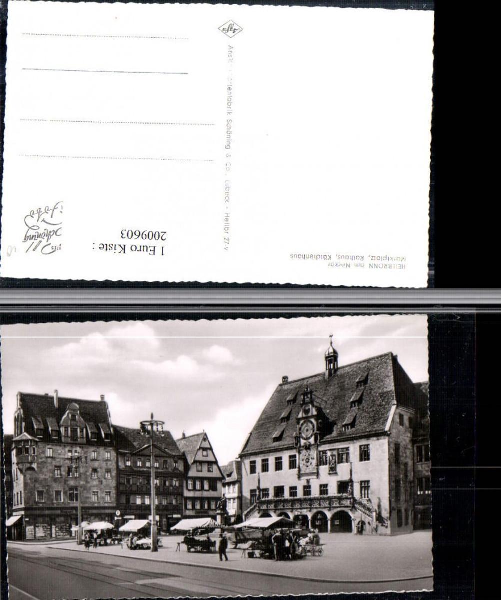 2009603,Heilbronn am Neckar Marktplatz Rathaus Kätchenhaus  günstig online kaufen