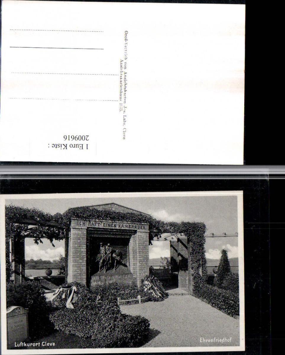 2009616,Cleve Kleve Ehrenfriedhof günstig online kaufen