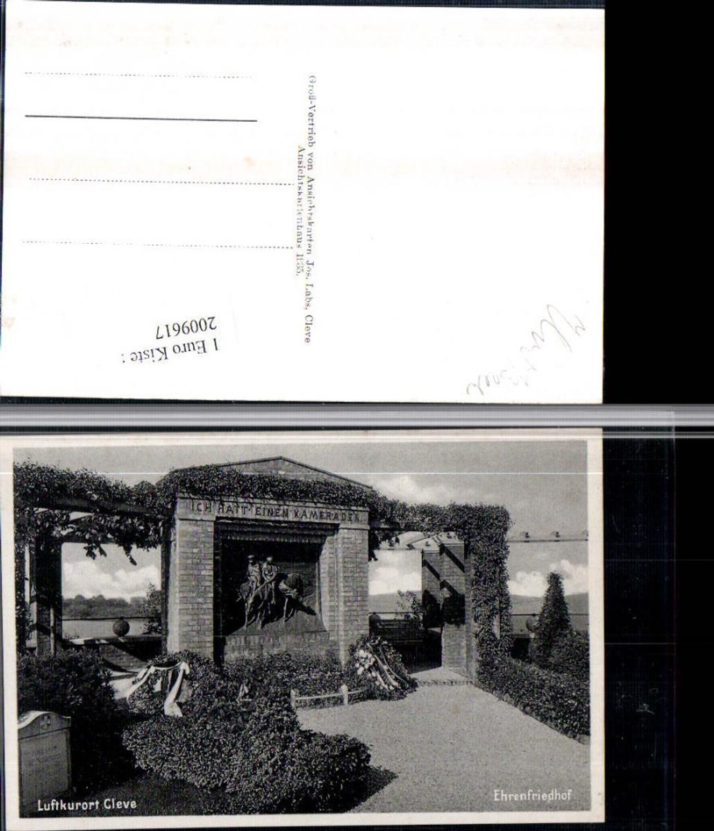 2009617,Cleve Kleve Ehrenfriedhof günstig online kaufen