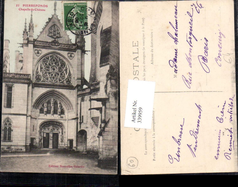 339959,Picardie Oise Pierrefonds Chapelle du Chateau Schloss Kapelle  günstig online kaufen