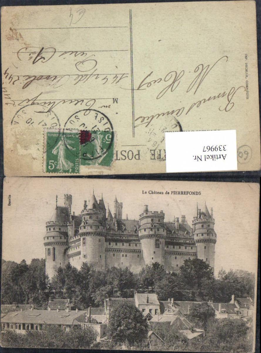 339967,Picardie Oise Pierrefonds Chateau Schloss  günstig online kaufen