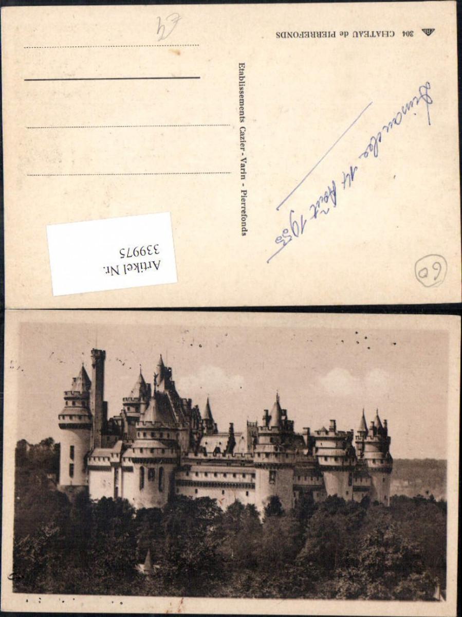 339975,Picardie Oise Pierrefonds Chateau Schloss Totale  günstig online kaufen