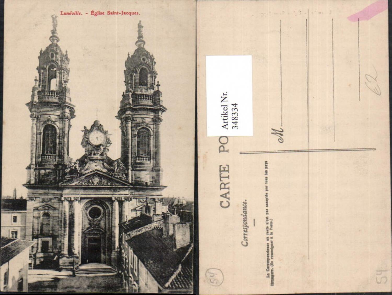 348334,Lothringen Meurthe-et-Moselle Luneville Eglise Saint-Jacques Kirche günstig online kaufen