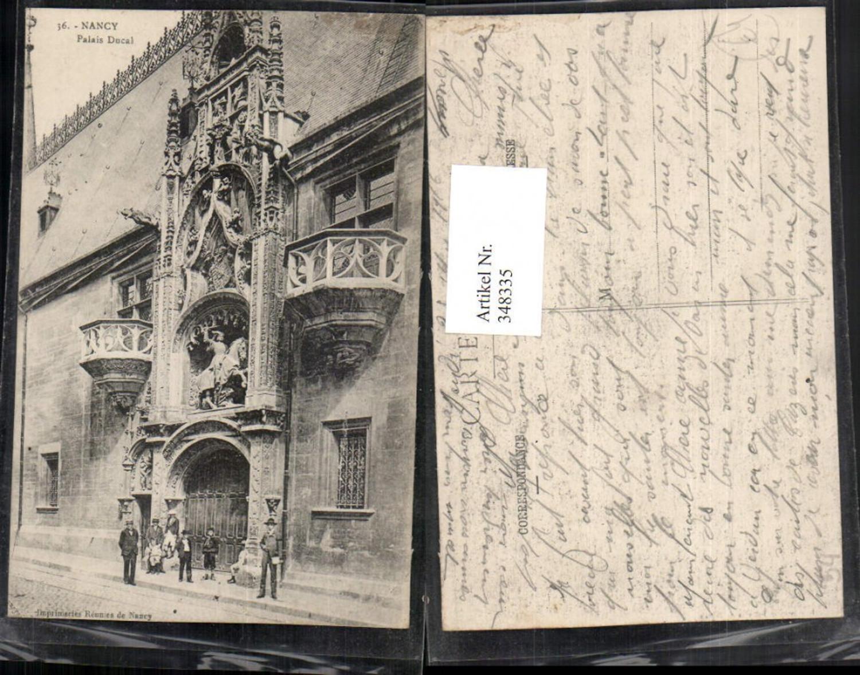 348335,Lothringen Meurthe-et-Moselle Nancy Palais Ducal Portal Balkon günstig online kaufen