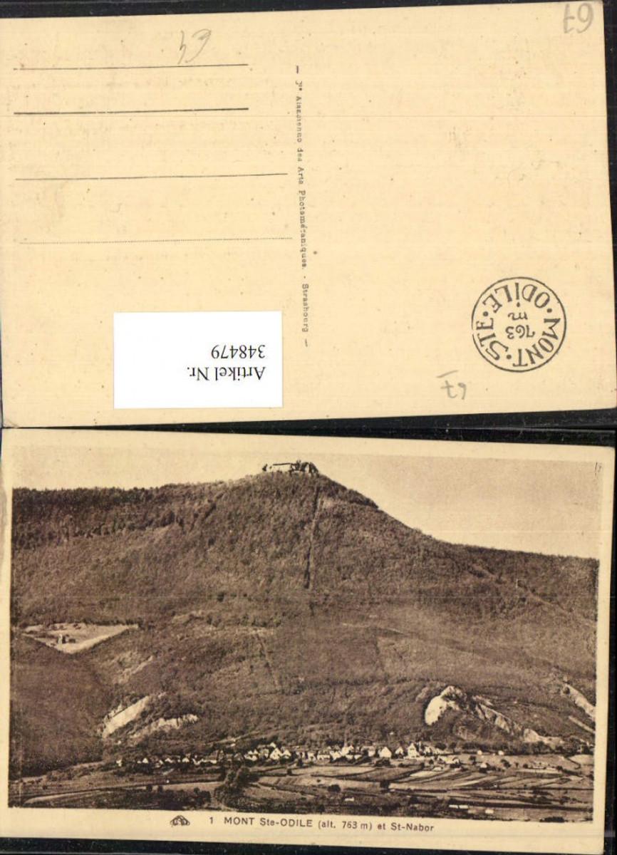 348479,Elsass Bas-Rhin Mont Ste-Odile Totale et St-Nabor günstig online kaufen