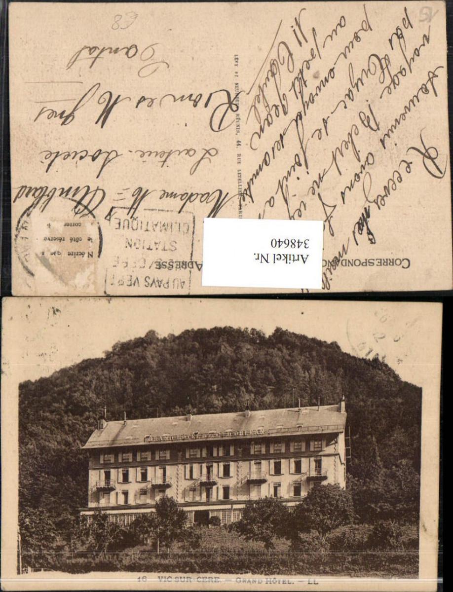 348640,Auvergne Cantal Vic-sur-Cere Grand Hotel günstig online kaufen
