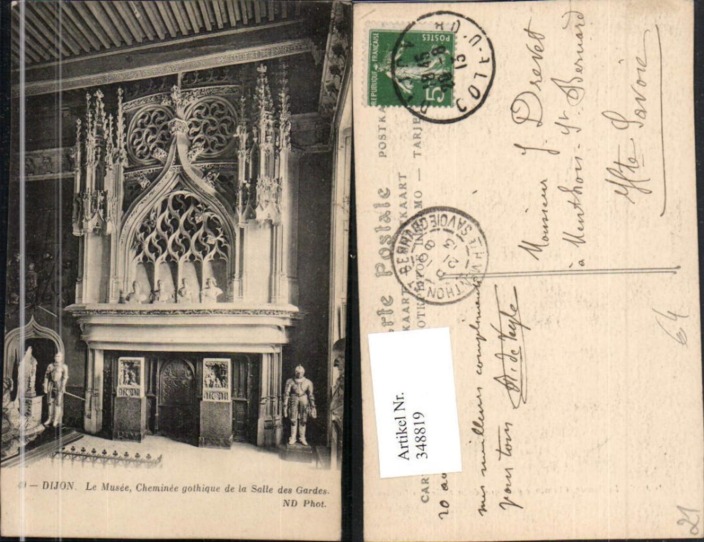 348819,Burgund Cote-Or Dijon Le Musee Cheminee gothique de la Salle des Gardes Kamin günstig online kaufen