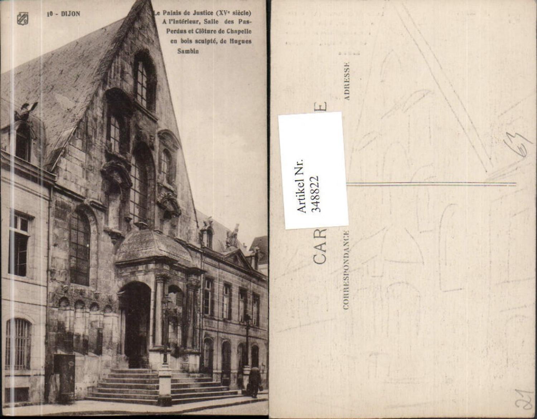 348822,Burgund Cote-Or Dijon Le Palais de Justice Justizpalast günstig online kaufen