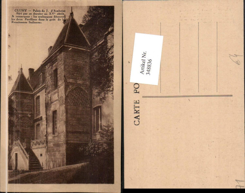 348836,Burgund Saone-et-Loire Cluny Palais de Justice Justizpalast günstig online kaufen