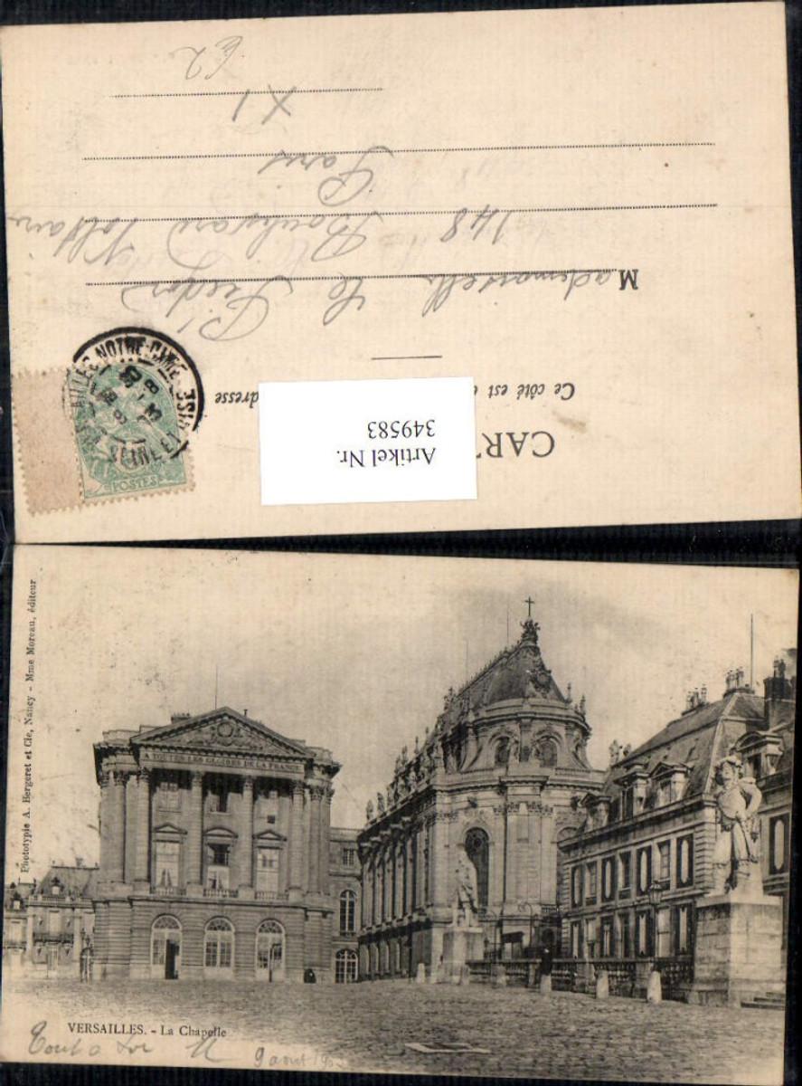 349583,Ile-de-France Yvelines Versailles Le Chapelle Schloss  günstig online kaufen