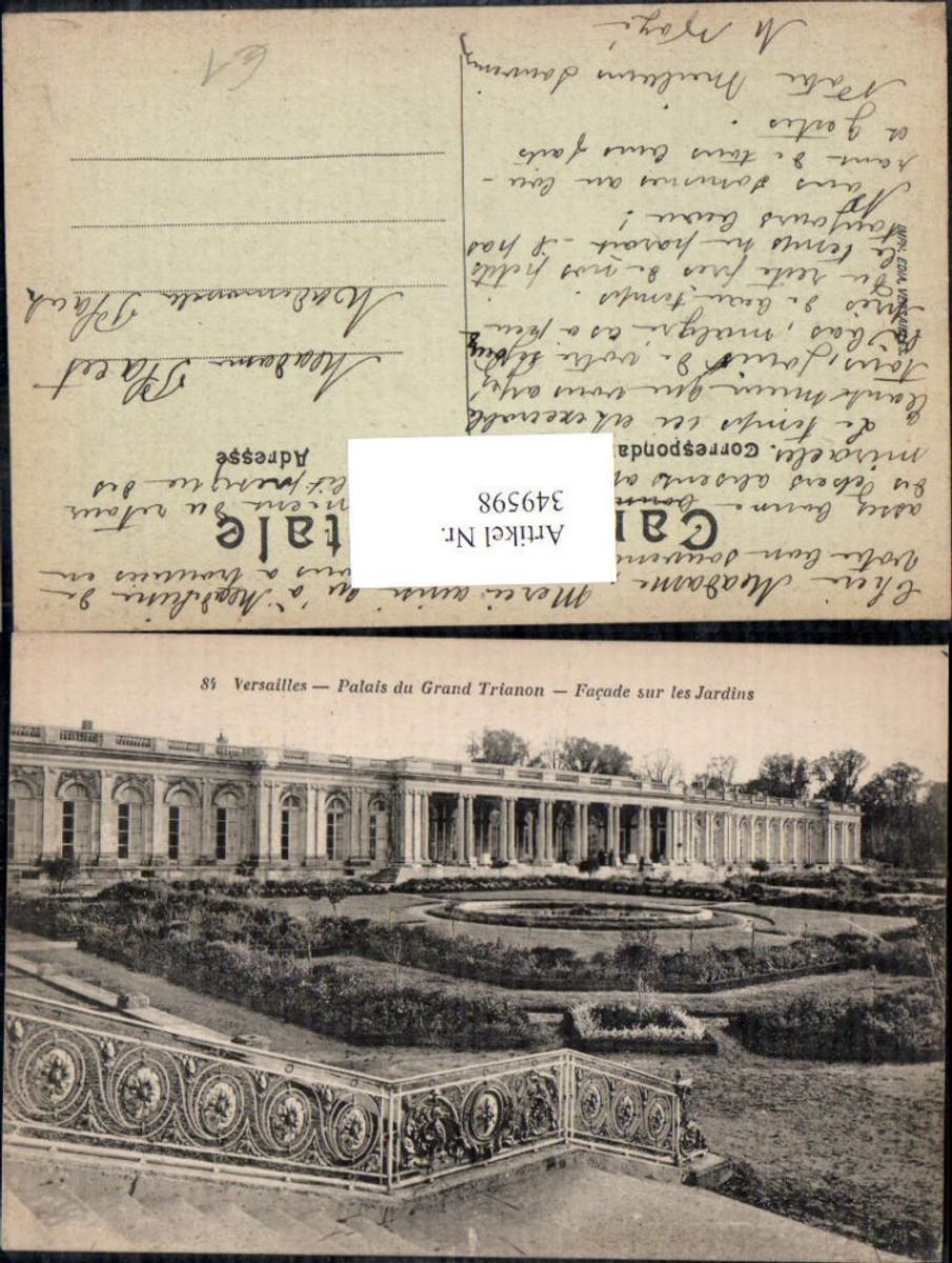 349598,Ile-de-France Yvelines Versailles Palais du Grand Trianon Facade sur les Jardins  günstig online kaufen