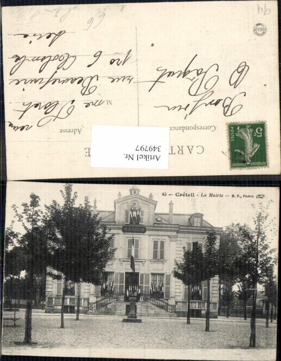 349797,Ile-de-Franche Val-de-Marne Creteil La Mairie Rathaus  günstig online kaufen