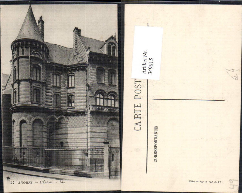 349815,Pays de la Loire Maine-et-Loire Angers L Eveche Gebäude  günstig online kaufen