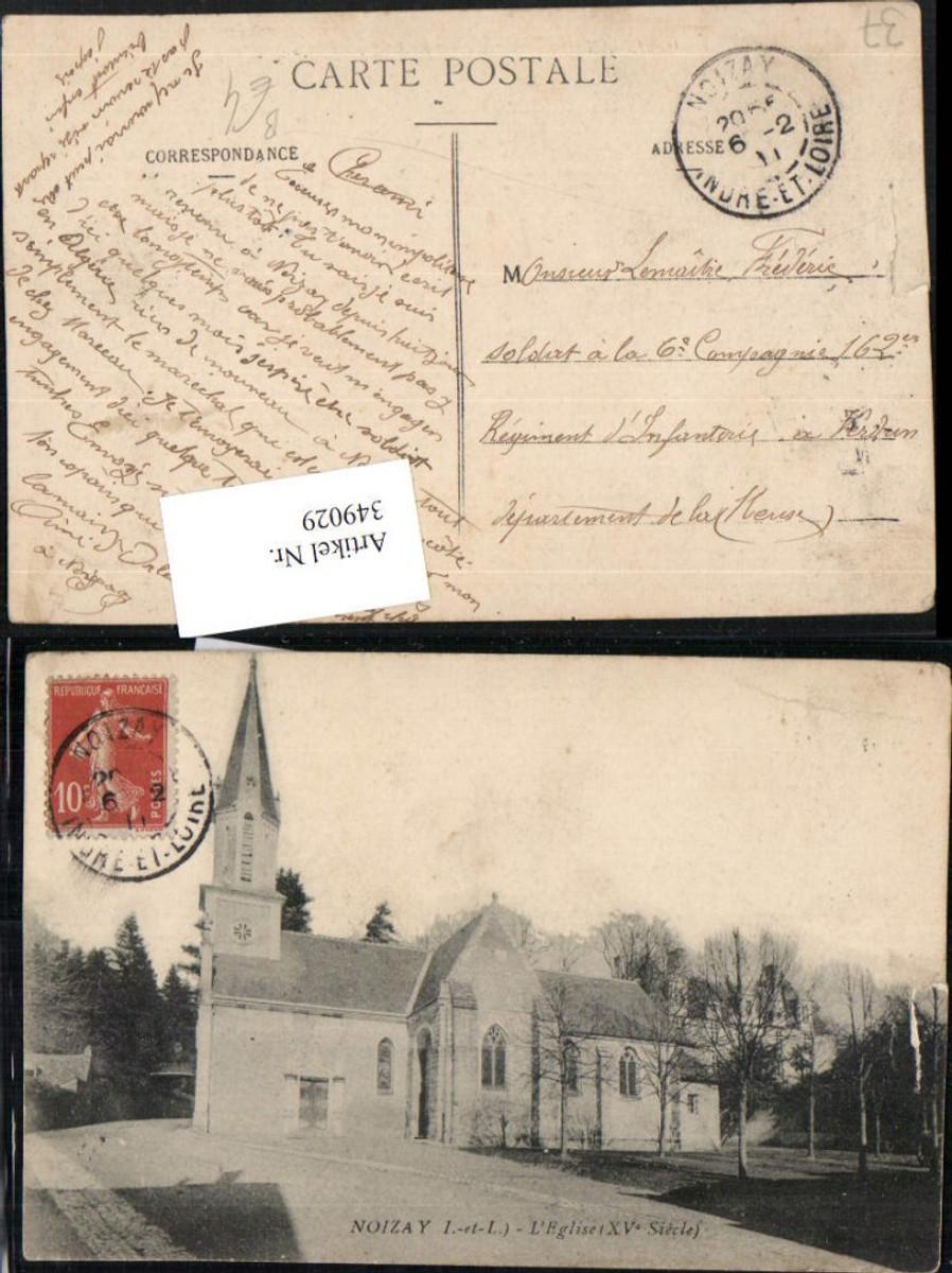 349029,Centre Indre-et-Loire Noizay L'Eglise Kirche günstig online kaufen