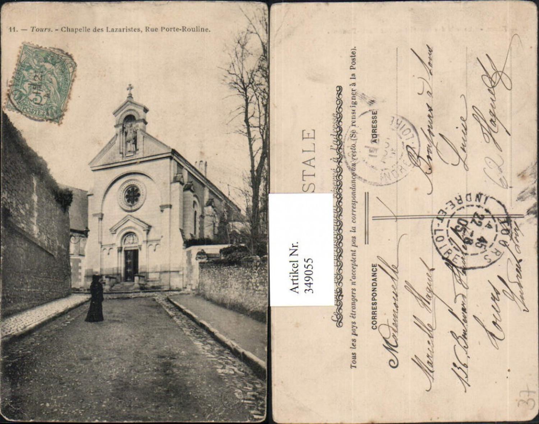 349055,Centre Indre-et-Loire Tours Chapelle des Lazaristes Rue Porte-Rouline Kirche günstig online kaufen