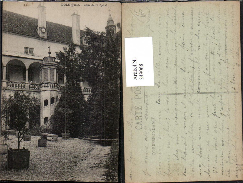 349068,Franche-Comte Jura Dole Cour de l'Hopital Krankenhaus Hof günstig online kaufen
