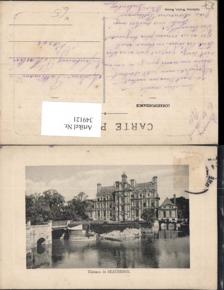 349121,Haute-Normandie Eure Chateau de Beaumesnil Schloss günstig online kaufen