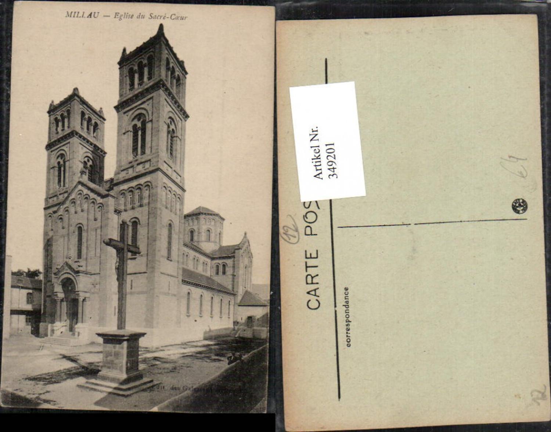 349201,Midi-Pyrenees Aveyron Millau Eglise du Sacre-Coeur Kirche günstig online kaufen
