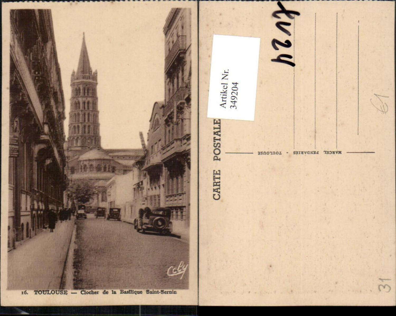 349204,Midi-Pyrenees Haute-Garonne Toulouse Clocher de la Basilique Saint-Sernin Kirche günstig online kaufen