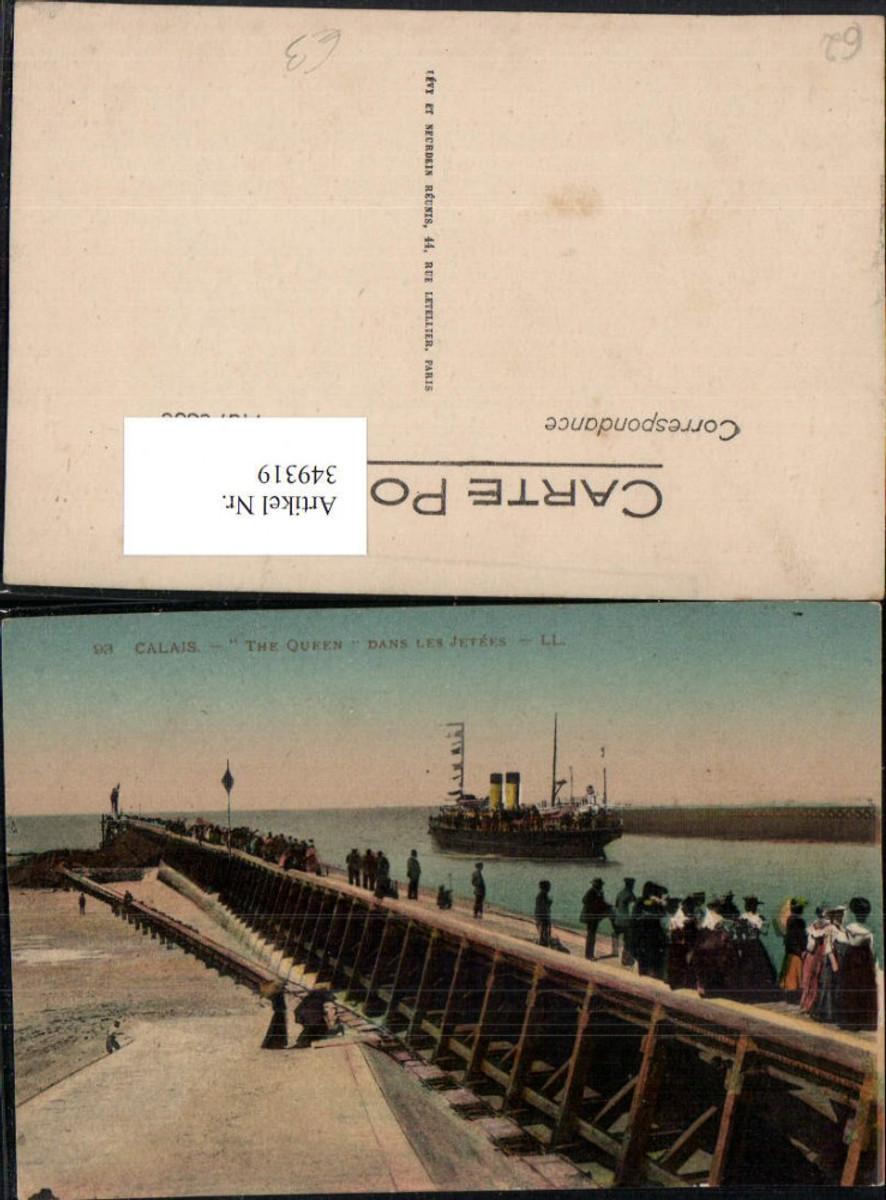 349319,Nord-Pas-de-Calais Pas-de-Calais Calais Dampfer The Queen dans les Jetees günstig online kaufen