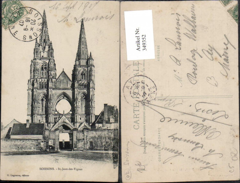 349352,Picardie Aisne Soissons St-Jean-des-Vignes Kirche günstig online kaufen