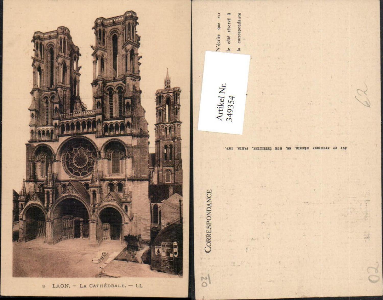 349354,Picardie Aisne Laon La Cathedrale Kirche günstig online kaufen