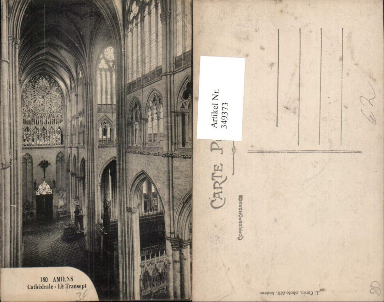 349373,Picardie Somme Amiens Cathedrale Le Transept Kirche Innenansicht günstig online kaufen