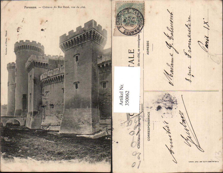 350062,Provence-Alpes-Cote-Azur Bouches-de-Rhone Tarascon Chateau du Roi Rene Schloss günstig online kaufen