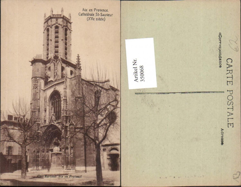 350068,Provence-Alpes-Cote-Azur Bouches-de-Rhone Aix-en-Provence Cathedrale St-Sauveur Kirche günstig online kaufen