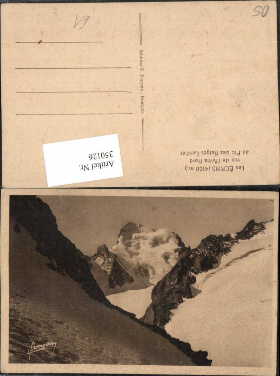 350126,Provence-Alpes-Cote-Azur Hautes-Alpes Les Ecrins vus de l'Arete Nord du Pic Neiges Cordier günstig online kaufen