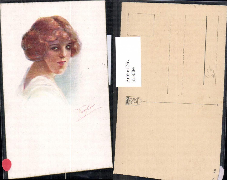 355084,Künstler Ak Taylor Frau Portrait  günstig online kaufen