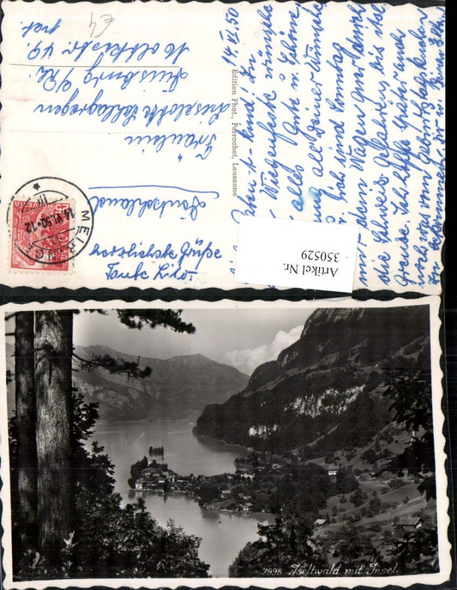 350529,Iseltwald Totale m. Insel Kt Bern günstig online kaufen