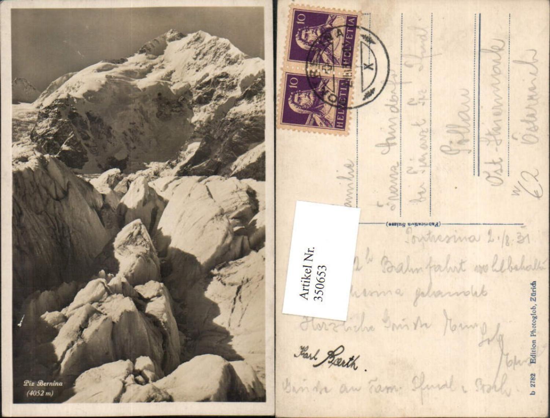 350653,Piz Bernina Bergkulisse Kt Graubünden günstig online kaufen