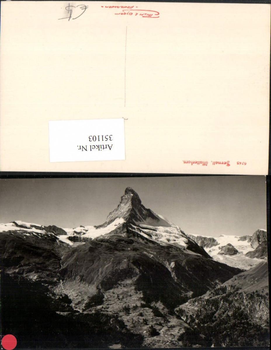 351103,Zermatt Matterhorn Bergkulisse Kt Wallis günstig online kaufen
