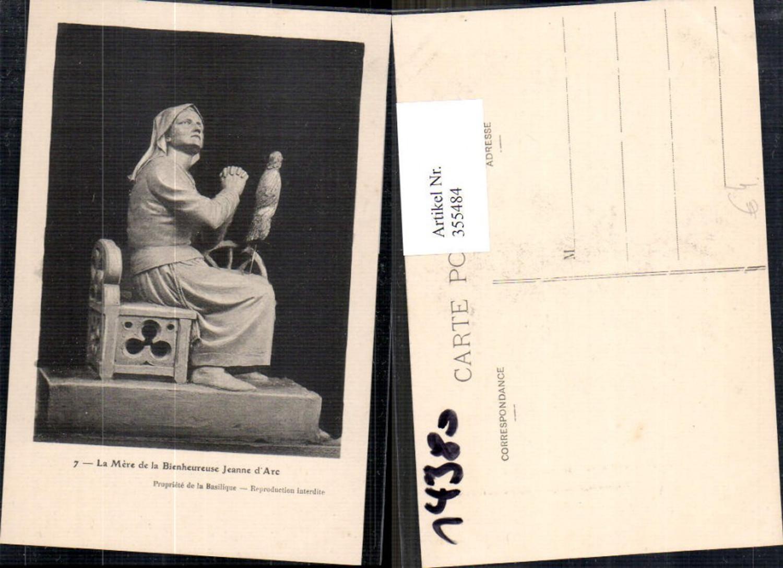 355484,La Mere de la Bienheureuse Jeanne d Arc Spinnrad Gebet Geschichte Frankreich  günstig online kaufen
